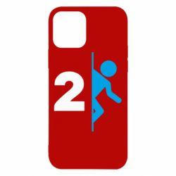 Чехол для iPhone 12/12 Pro Portal 2 logo