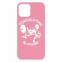 Чехол для iPhone 12/12 Pro Powerlifting be Stronger