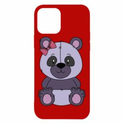 Чохол для iPhone 12/12 Pro Purple Teddy Bear