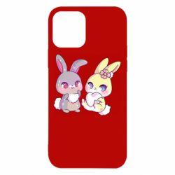 Чохол для iPhone 12 Rabbits In Love
