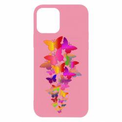Чохол для iPhone 12/12 Pro Rainbow butterflies