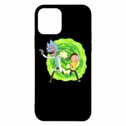 Чохол для iPhone 12/12 Pro Rick and Morty art