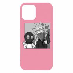 Чехол для iPhone 12/12 Pro Rick and Morty Bandits