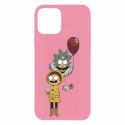 Чехол для iPhone 12/12 Pro Rick and Morty: It 2