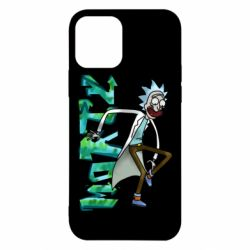 Чохол для iPhone 12 Rick and text Morty