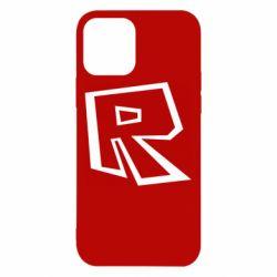 Чохол для iPhone 12 Roblox minimal logo