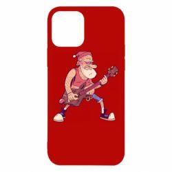 Чохол для iPhone 12 Rock'n'roll Santa
