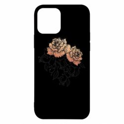 Чохол для iPhone 12 Roses with patterns
