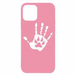 Чехол для iPhone 12/12 Pro Рука волка