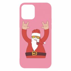 Чохол для iPhone 12/12 Pro Santa Claus with a tube