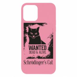 Чохол для iPhone 12/12 Pro Schrödinger's cat is wanted