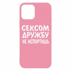 Чехол для iPhone 12/12 Pro СЕКСОМ ДРУЖБУ НЕ ИСПОРТИШЬ