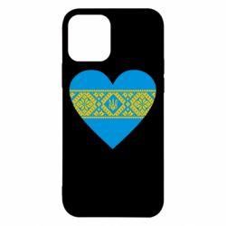 Чехол для iPhone 12/12 Pro Серце України
