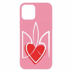 Чехол для iPhone 12/12 Pro Серце з гербом