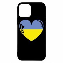 Чохол для iPhone 12/12 Pro Серце України