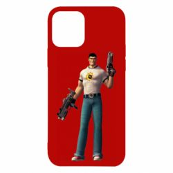 Чехол для iPhone 12/12 Pro Serious Sam with guns