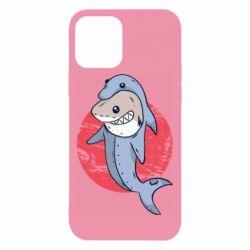 Чехол для iPhone 12/12 Pro Shark or dolphin