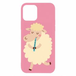 Чехол для iPhone 12/12 Pro Sheep with flute