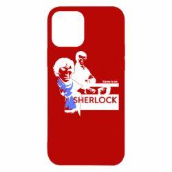 Чехол для iPhone 12/12 Pro Sherlock (Шерлок Холмс)