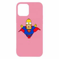 Чехол для iPhone 12/12 Pro Simpson superman