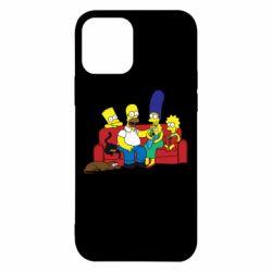 Чехол для iPhone 12/12 Pro Simpsons At Home