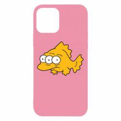 Чехол для iPhone 12/12 Pro Simpsons three eyed fish