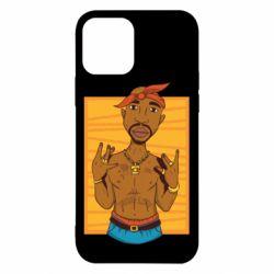 Чохол для iPhone 12/12 Pro Singer Tupac Shakur