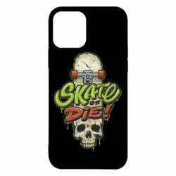 Чохол для iPhone 12/12 Pro Skate or die skull