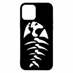 Чехол для iPhone 12/12 Pro скелет рыбки