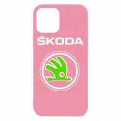 Чехол для iPhone 12 Skoda Bird