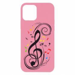 Чехол для iPhone 12/12 Pro Скрипичный ключ