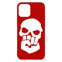 Чехол для iPhone 12/12 Pro Skull and Fist
