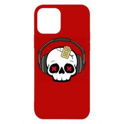 Чохол для iPhone 12/12 Pro Skull in headphones 1