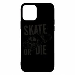 Чохол для iPhone 12/12 Pro skull Skate or die