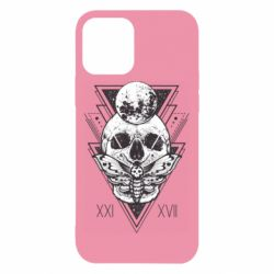 Чохол для iPhone 12/12 Pro Skull with insect