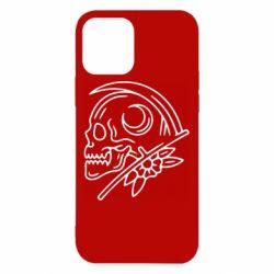 Чохол для iPhone 12 Skull with scythe