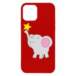Чохол для iPhone 12/12 Pro Слон із зірочкою