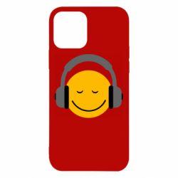 Чехол для iPhone 12/12 Pro Smile in the headphones