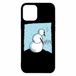 Чохол для iPhone 12 Snowman. It's Cold!