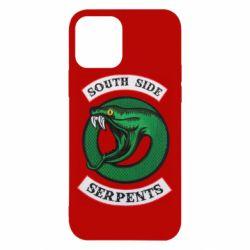 Чехол для iPhone 12/12 Pro South side serpents stripe