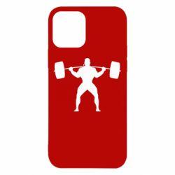 Чохол для iPhone 12/12 Pro Спортсмен зі штангою