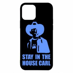 Чехол для iPhone 12 Stay in the house Carl