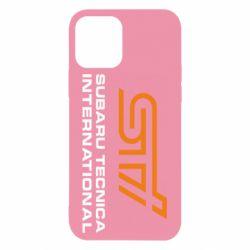 Чохол для iPhone 12/12 Pro STI