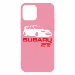 Чехол для iPhone 12/12 Pro Subaru STI