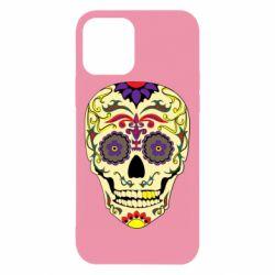 Чохол для iPhone 12/12 Pro Sugar Skull Vector