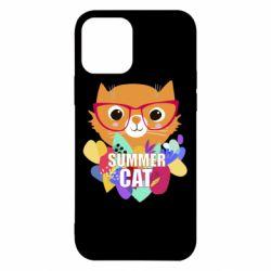 Чехол для iPhone 12/12 Pro Summer cat