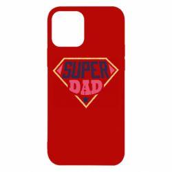 Чехол для iPhone 12/12 Pro Super dad text
