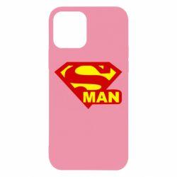 Чехол для iPhone 12 Super Man