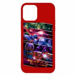 Чехол для iPhone 12/12 Pro Super power avengers