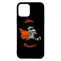 Чехол для iPhone 12/12 Pro Super raccoon